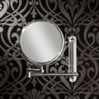HIB Tila Dual Purpose Height Adjustable Extendable Magnifying Mirror with 3x Magnification 28200
